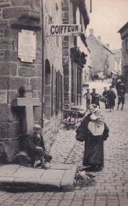 Lannion France Hairdressers Coiffeur Antique French Postcard