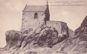 LE MONT ST. MICHEL, Manche, France, 1900-1910's; La Chapelle St. Aubert