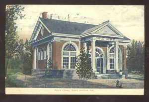 GRAND JUNCTION COLORADO PUBLIC LIBRARY VINTAGE POSTCARD