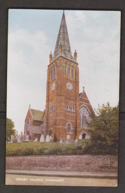 United Kingdom Churches - Parish Church Lyndhurst - Exterior View