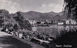 Switzerland Lugano Lungolago Photo