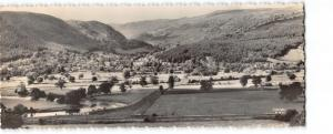 Vintage Panorama Real Photo Wales Postcard, General View Trefriw OS87