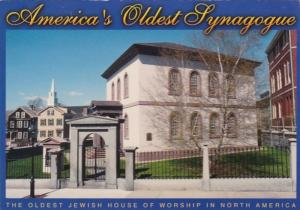 Rhode Island Newport Touro Synagogue Oldest Jewish House Of Worship In North ...