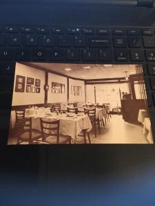 Vintage Postcard:The George Inn, Tea Room , Victoria BC Canada