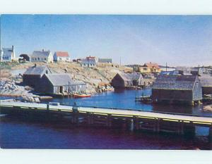 Unused Pre-1980 TOWN VIEW SCENE Peggy's Cove - Halifax Nova Scotia NS p8611
