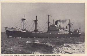Cargo, Pacific Cargo Liner Beaverford, Sister Ships Beaverburn & Beaverlodge,...
