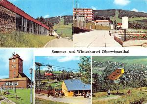 Sommer und Winterkurort Oberwiesenthal Cable Car Panorama
