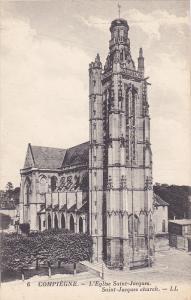 L'Eglise Saint-Jacques, Saint-Jacques Church, COMPIEGNE (Oise), France, 1900-...