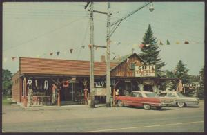 Gift and Tackle Shop,Lake Tomahawk,WI Postcard