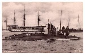 Tuck´s 6585 H.M. Submarine No.3 , RPC