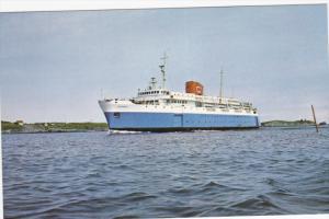 M.V. Bluenose C. N. Car Ferry Running between Yarmouth, Nova Scotia, Canada...