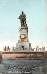 B91975 port said egypt monument ferdinand de lesseps    africa