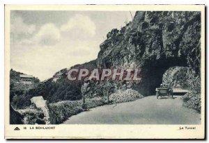 Old Postcard Schlucht The Tunnel