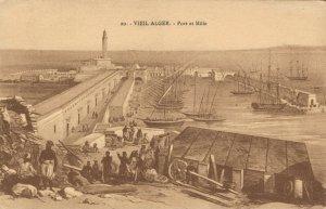 Algeria Vieil Alger Port et Môle 03.75