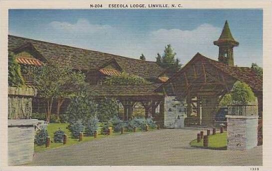 North Carolina Linville Eseeola Lodge