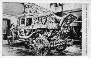 France Versailles Musee des Voitures du Sacre de Charles X Car Postcard