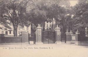 Exterior, Brown University, Van Wickle Gales, Providence, Rhode Island, 00-10s