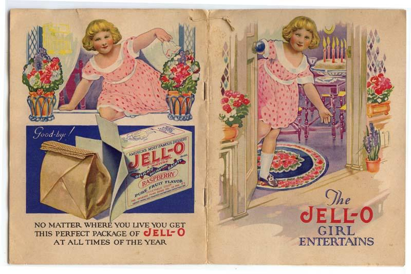 Rose O'Neill Illustrated Jell-o Booklet, Kewpies