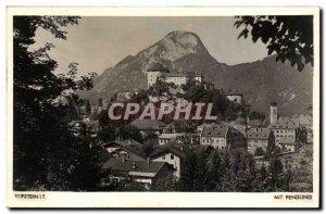 Kufstin Old Postcard Mit Pendling