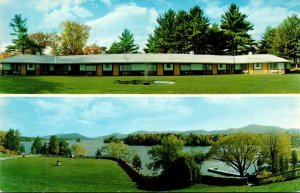 New York Bolton Landing Melody Manor Motel 1962