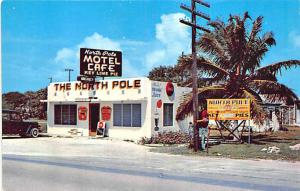 Marathon Florida Keys North Pole Motel & Cafe Postcard