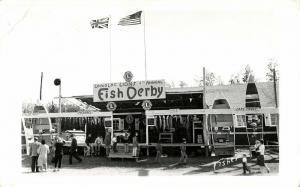 canada, LONGLAC, Ontario, Lions Club Fish Derby (1960) RPPC Postcard