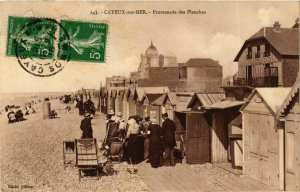 CPA CAYEUX-sur-MER Promenade des Planches (868966)