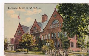 Buckingham School, SPRINGFIELD, Massachusette, PU-1911