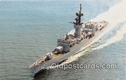 Vietnam Conflict Postcard Post Card USS Truett FF1095