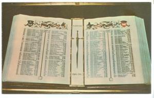The Book of Remembrance, Le Livre du Souvenir, unused Postcard