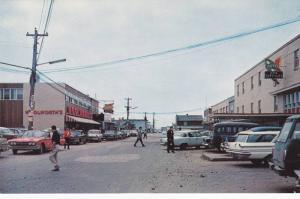 L'Avenue Arnaud Centre d'achats , SEPT-ILES , Quebec , Canada , 1960s