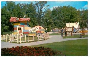 The Old Woman Who Lived in a Shoe,  Storybook Gardens,  Springbank Park,  Lo...