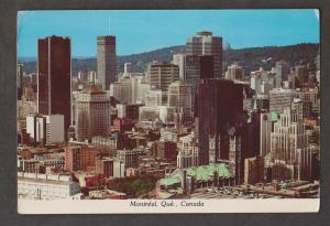 Montreal - View Of Downtown Business District 1984 - Corner Creasing