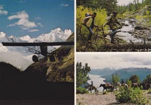Chilko Lake Wilderness Ranch , Williams Lake , B.C. , Canada , 50-70s #4