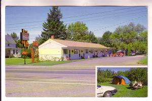 Inset, Orchard Queen Motel & Campground, Middleton, Nova Scotia, Photo Reic N...