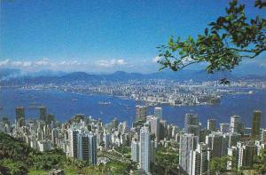 Hong Kong & Kowloon From Peak
