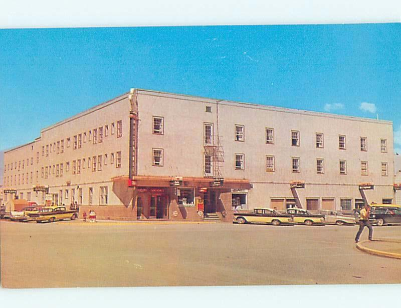 Unused Pre-1980 INN MOTEL Whitehorse Yukon YT c5812