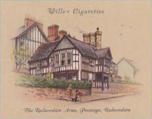 Wills Cigarette Card 2nd Series No 28 Radnorshire Arms Presteign Radnorshire