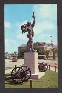 SC Statue US Marines Parris Island SOUTH CAROLINA PC