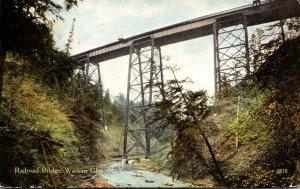 New York Watkins Glen Railroad Bridge