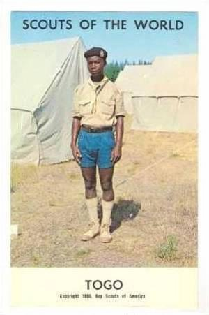 Boy Scouts of the World, Togo,40-60s