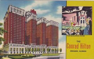 Illinois Chicago The Boulevard Room The Conrad Hilton