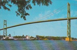 1000 Islands Bridge Clayton New York 1945