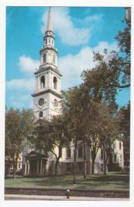 PROVIDENCE, Rhode Island, 40-60s; First Baptist Church