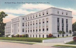 Florida Tallahassee Holland Building State Road Deparment