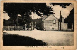 CPA Vieux-Moulin Entrée du pays (423201)