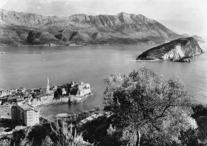 Montenegro Budva panorama 1959