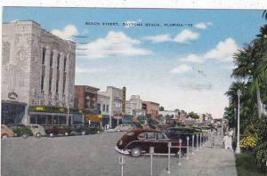 Florida Daytona Beach Street 1949