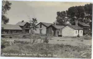 RP Group of Buildings Post Traders Yard Fort Bridger? WY