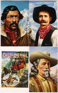 4 - Buffalo Bill, Beckwourth, Overland Mail, & Bill Tilghman